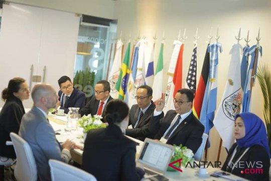 Anies : Jakarta akan turunkan 30 persen emisi gas rumah kaca