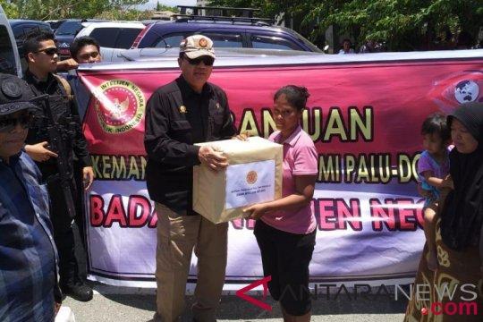 Kepala BIN serahkan bantuan untuk korban gempa Palu