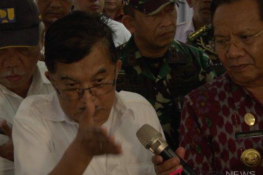 Wapres minta pemerintah sipil belajar manajemen krisis dari militer saat bencana