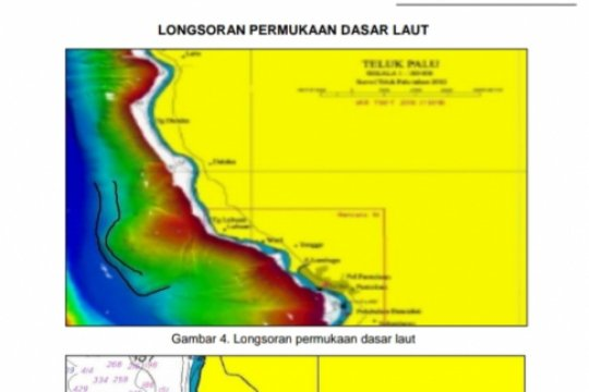 KRI Spica-934 temukan longsoran dasar laut di Palu