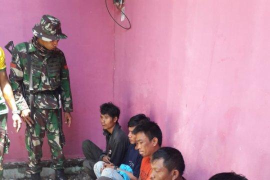 TNI tangkap pencuri kabel listrik di Palu