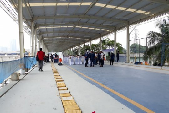 Skybridge Tanah Abang perlu integrasi dengan angkutan umum