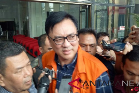 KPK sebut empat terdakwa kasus Meikarta disidangkan Rabu