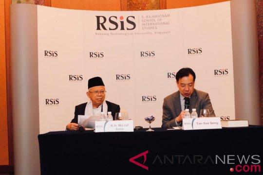Ma'ruf Amin bicara Islam moderat di Singapura