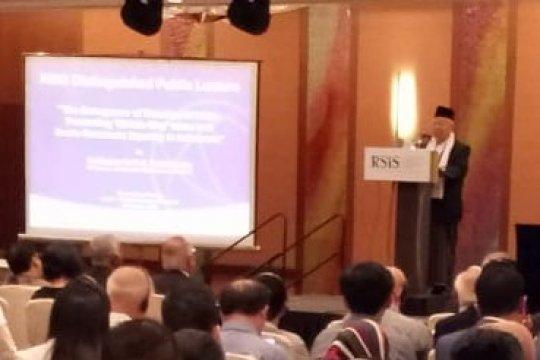 Ma'ruf Amin ajak publik Singapura promosikan Islam Wasathiyah