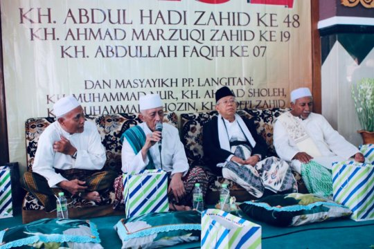 Ma'ruf Amin akan temui ratusan ulama dan santri Madura