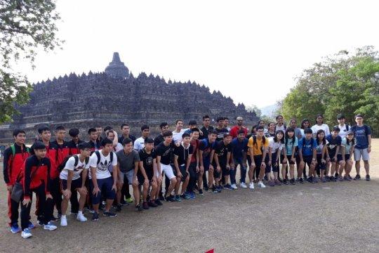 Peserta Superliga 2018 diajak piknik ke Borobudur