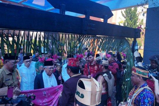 Ma'ruf Amin hadiri perayaan Hari Santri di Kalimantan