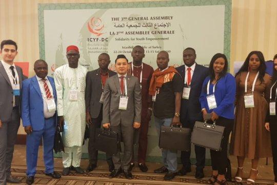Delegasi Indonesia pimpin sidang umum pemuda Islam dunia di Turki
