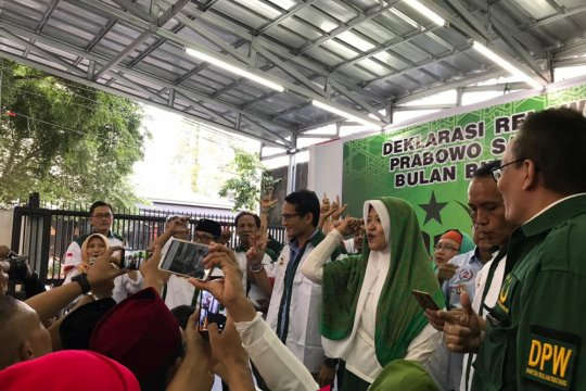 Akar rumput-calon legislatif PBB dukung Prabowo-Sandiaga