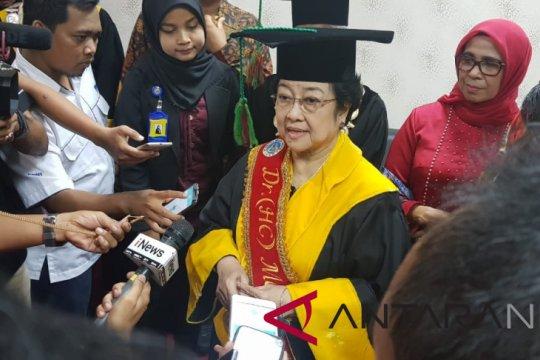 Megawati prihatin soal jatuhnya Lion Air