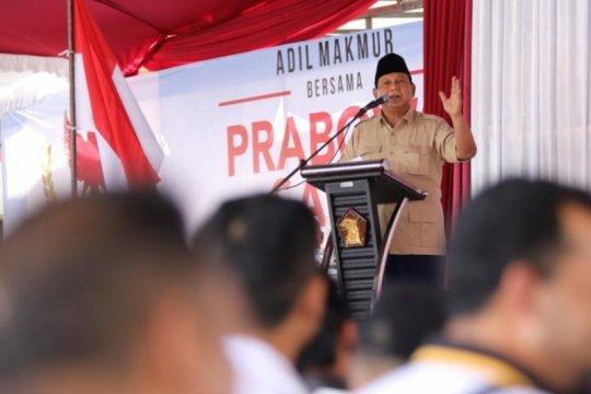 Prabowo minta relawan jaga TPS sampai penghitungan selesai