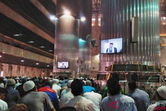 Khatib Istiqlal ajak umat muslim jangan saling mencela
