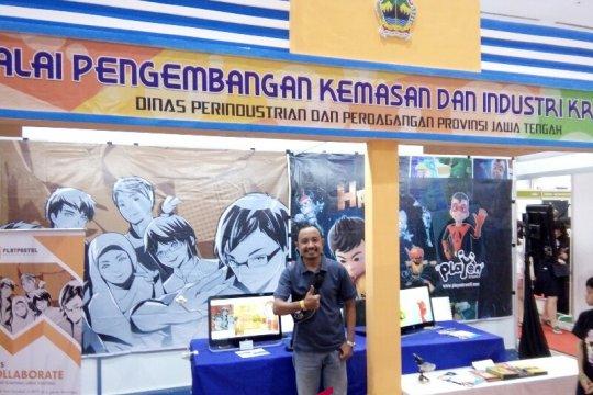 Pertama kalinya, industri kreatif Jawa Tengah ikuti Indonesia Comic Con