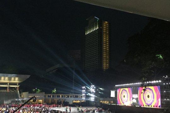 Doa untuk Sulawesi Tengah di penutupan Asian Para Games