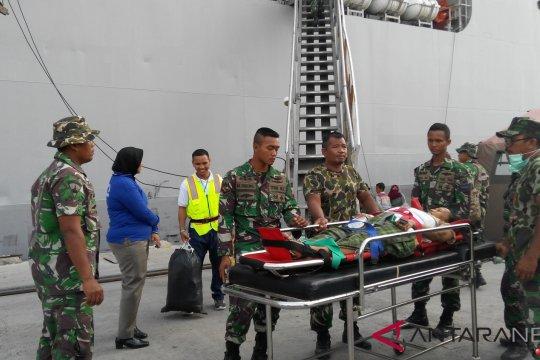Kapal RS Soeharso layani 1.238 pasien gempa