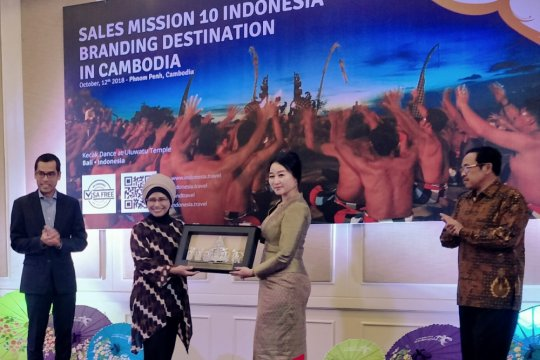 Asita Kamboja minati destinasi wisata unggulan Indonesia