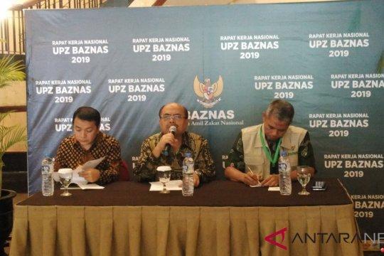 Unit Pengumpul Zakat Baznas bukukan Rp50 miliar hingga Oktober