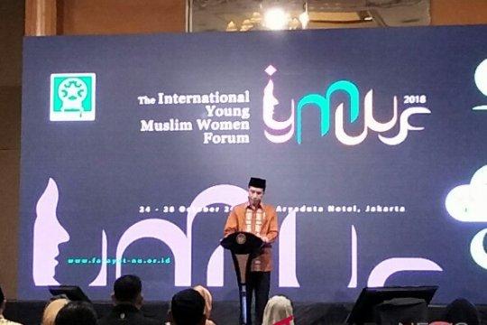 Presiden Jokowi buka Forum Muslimah Muda Internasional