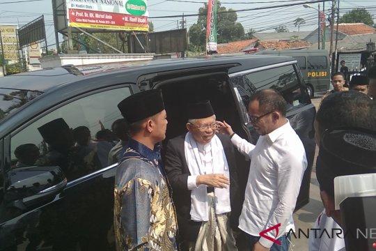 Ma'ruf Amin: Serahkan insiden pembakaran bendera tauhid kepada polisi