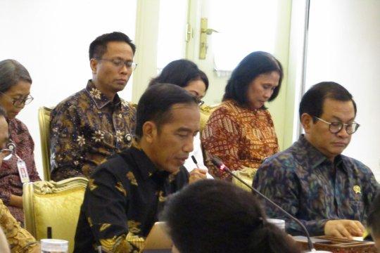 Jokowi: keberhasilan menyelenggarakan acara kelas dunia menunjukkan Indonesia besar