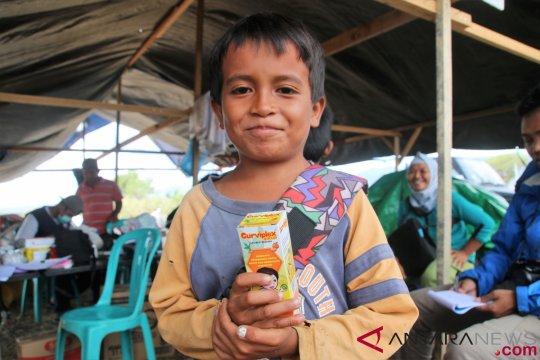 Pengungsi anak-anak Desa Lolu butuh perlengkapan belajar