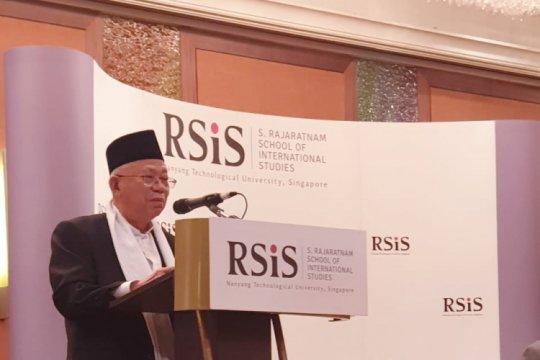Pidato Ma'ruf Amin yang membuat hadirin tertawa