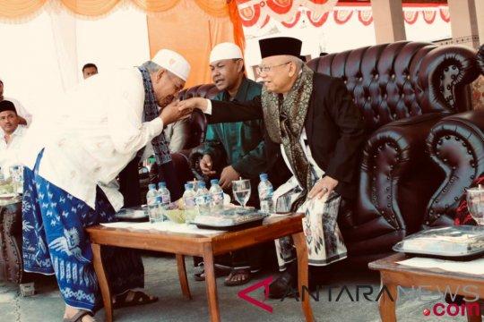Di Madura, Ma'ruf Amin merasa kembali ke kampung halaman