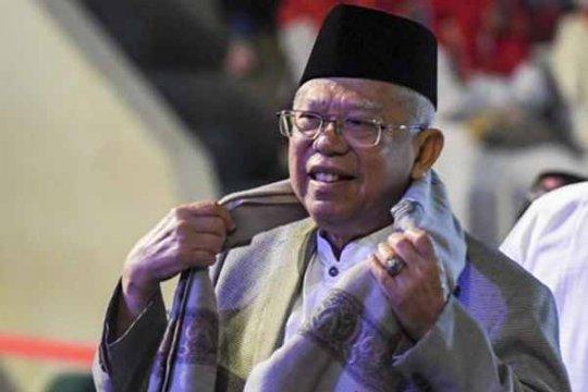 Ma'ruf Amin berikan saran soal ekonomi umat