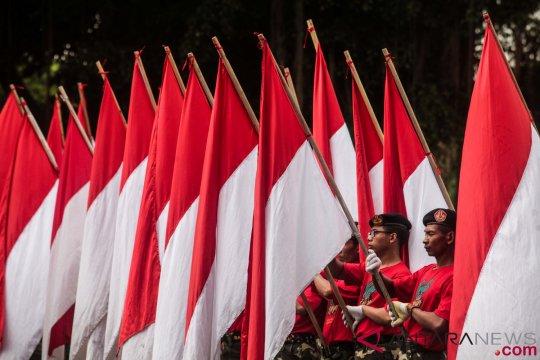 Warga diimbau kibarkan bendera Merah Putih 23 Januari