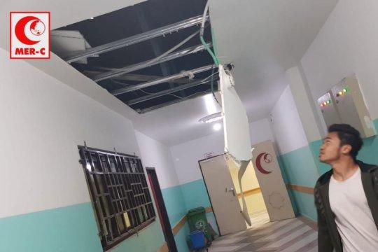 Rumah Sakit Indonesia di Gaza kena dampak serangan Israel