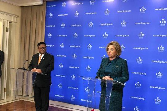 DPD-Dewan Federal Rusia bicarakan penerbangan langsung Indonesia-Rusia
