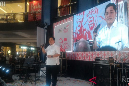 Relawan perempuan Jokowi-Ma