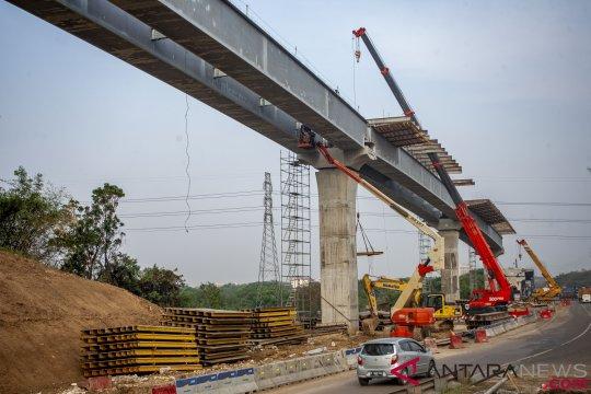 PT Jasa Marga (Persero) harap tol layang Jakarta-Cikampek fungsionalisasi Lebaran 2019