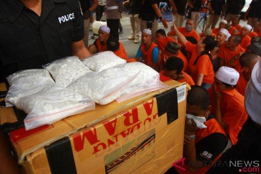 Polisi tangkap pengedar ekstasi jaringan lapas di Banjarmasin