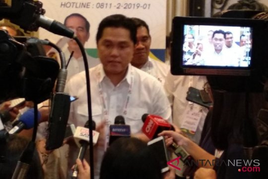 Erick Thohir hadiri Deklarasi Perempuan Indonesia Jokowi-Ma`ruf