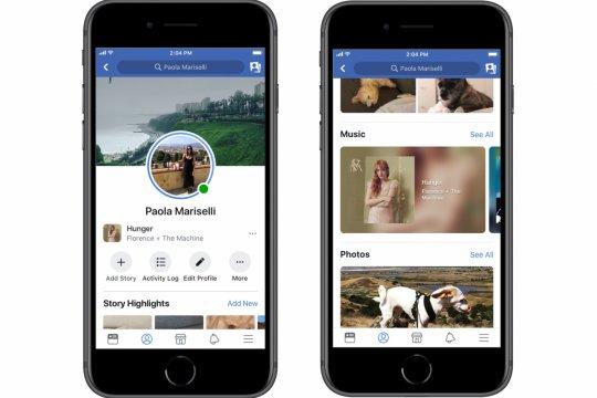 Facebook bisa tambahkan lagu di Stories, profil dan news feed