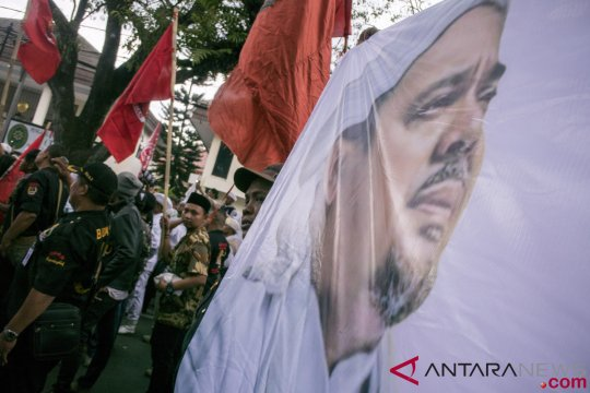 Polda Riau dalami dugaan penghinaan Rizieq Shihab