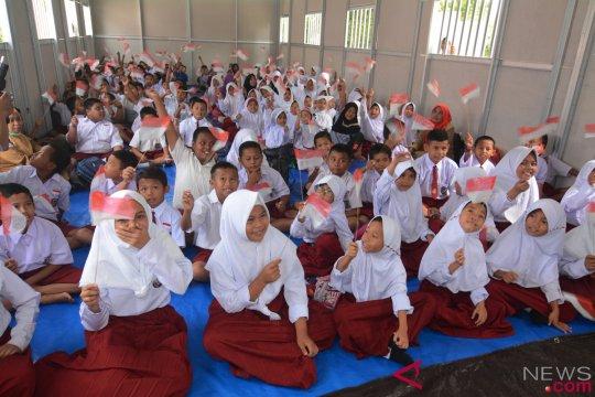 Kegiatan belajar mengajar di Palu pulih awal Desember