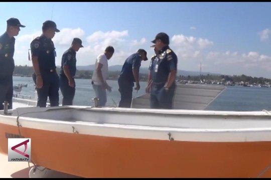 KSOP uji petik kelaiklautan kapal penumpang tradisional