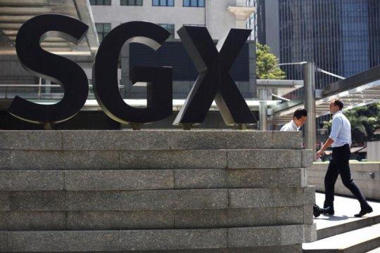 Bursa saham Singapura ditutup 0,69 persen lebih tinggi
