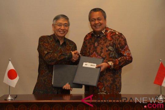 Indonesia dan Jepang perpanjang perjanjian pertukaran mata uang