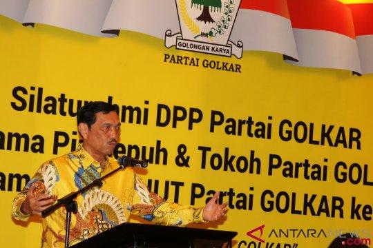 Silaturahmi Pinisepuh dan Tokoh Partai Golkar