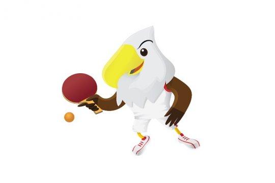 Tim ganda putra Indonesia tambah dua emas tenis meja