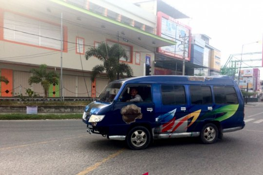 Angkutan antarkota sudah beroperasi di Palu