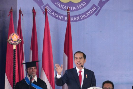 Jokowi ingatkan rivalitas tak bersifat destruktif