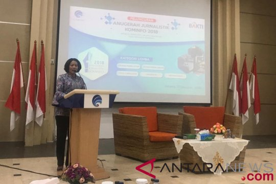 Kominfo luncurkan Anugerah Jurnalistik Kominfo 2018