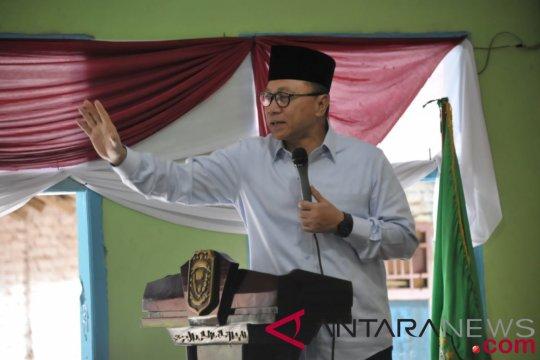 Zulkifli Hasan ingin kemajuan pendidikan pondok pesantren merata di seluruh Indonesia