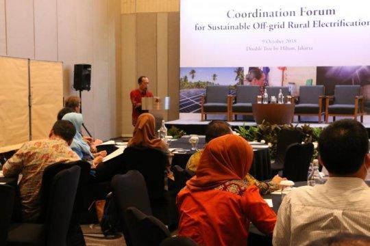 Forum komunikasi sinergitas pengelolaan PLT EBT off-grid