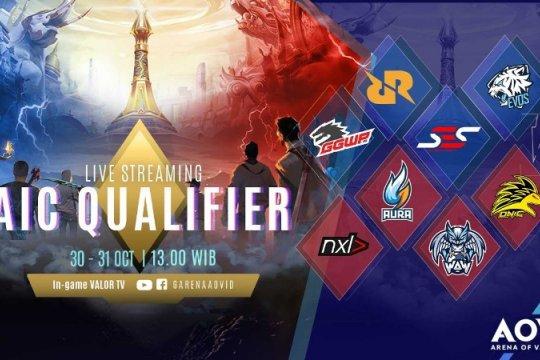 8 tim AOV bertarung untuk wakili Indonesia di AIC 2018